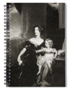 Harriet, Duchess Of Spiral Notebook