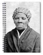 Harriet Tubman 1823-1913.  To License For Professional Use Visit Granger.com Spiral Notebook