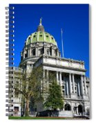 Harrisburg Capitol Building Spiral Notebook