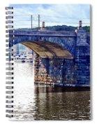 Harrisburg Pa - Market Street Bridge Spiral Notebook