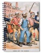 Harrison Cartoon, 1888 Spiral Notebook