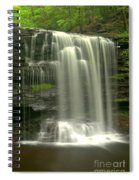 Harrison Wrights Falls Spiral Notebook