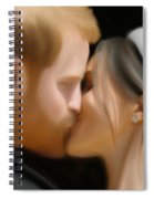 Harry And Meghan Spiral Notebook
