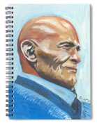 Harry Belafonte Spiral Notebook