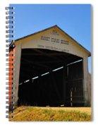 Harry Evans Covered Bridge Spiral Notebook