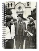 Harry Jr, 16 Harry Lillis Bing  And Wife Kathy Spiral Notebook