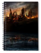 Harry Potter And The Deathly Hallows Part I 2010  Spiral Notebook