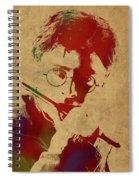 Harry Potter Watercolor Portrait Spiral Notebook