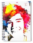 Harry Styles Paint Splatter Spiral Notebook