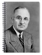 Harry Truman - 33rd President Of The United States Spiral Notebook