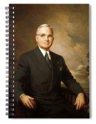 Harry Truman Spiral Notebook