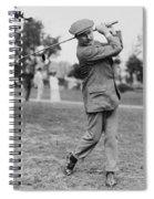 Harry Vardon Spiral Notebook