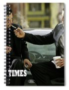 Harsh Times, Starring Christian Bale, Freddy Rodriguez And Eva Longoria Spiral Notebook