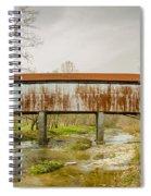 Harshaville Covered Bridge  Spiral Notebook