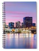 Hartford Purple Twilight Spiral Notebook
