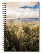Hartz Mountains To Wellington Range Spiral Notebook