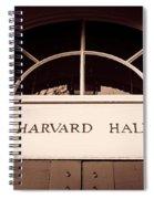 Harvard Hall #2 Spiral Notebook