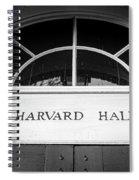 Harvard Hall Spiral Notebook
