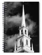 Harvard Memorial Church Steeple Spiral Notebook