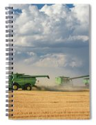 Harvest Clouds Spiral Notebook
