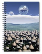 Harvest Day Sightings Spiral Notebook