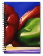 Harvest Festival Peppers Spiral Notebook