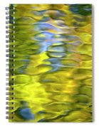 Harvest Gold Mosaic Spiral Notebook