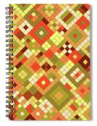 Harvest Gold Spiral Notebook