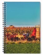 Harvest In Amish Country - Elkhart County, Indiana Spiral Notebook