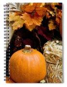 Harvest Spiral Notebook