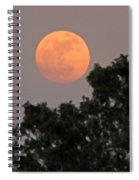 Harvest Moonrise Spiral Notebook