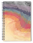 Harvest Wind- Abstract Art By Linda Woods Spiral Notebook