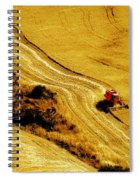 Harvesting The Crop Spiral Notebook