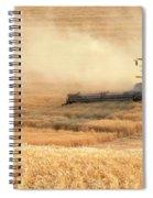 Harvesting Wheat 1336 Spiral Notebook