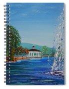 Harveston Lake Fountain Spiral Notebook