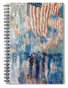 Hassam Avenue In The Rain Spiral Notebook