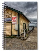 Hastings Jetty Spiral Notebook