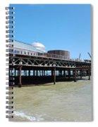 Hastings Pier, East Sussex Spiral Notebook
