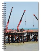 Hastings Pier, England Spiral Notebook