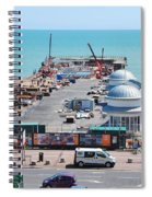 Hastings Pier Rebuild Spiral Notebook