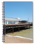 Hastings Pier Renovation Spiral Notebook