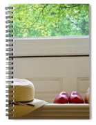 Hat And Clogs Spiral Notebook