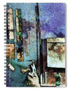 Hat And Glass Bottle Spiral Notebook