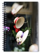 Hat Rack Spiral Notebook