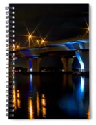 Hathaway Bridge At Night Spiral Notebook