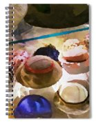 Hats In A Row Spiral Notebook
