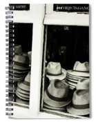 Hats Of Bruges Spiral Notebook