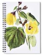 Hau Flower Art Spiral Notebook