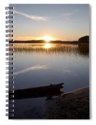 Haukkajarvi Evening Spiral Notebook