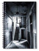 Haunted Hallway Spiral Notebook
